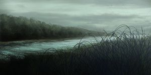 river by Fetscher