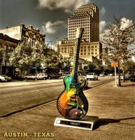 Texas Guitar HDR by nat1874