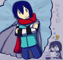 [AT] i want to be hero by FerniAngel
