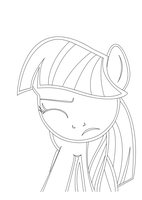 Twilight Sparkle (working on vector currently) by Irisaurus