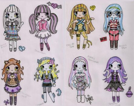 Monster High by Maddie-Pie