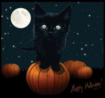 Happy Halloween +WP by pure-andrea