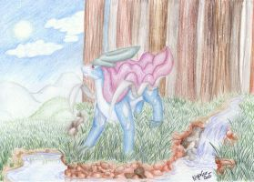 Suicune by Phoeline