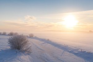 Winter Sunset by JacePhotography