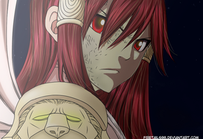 Erza Scarlet Armor Nakagami - FT Chapter 322 by FireTails98