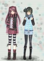 Stripes and PolkaDots by CoDLia