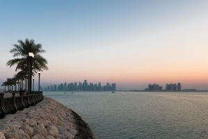 Doha City Skyline by gmwebs