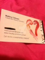 Mary Kay Business Card by SteampunkedInkling