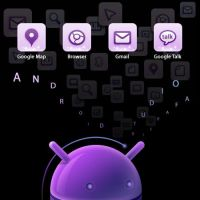 my used apk on Android-violet by tifafa