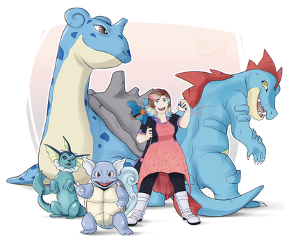 Fen The Pokemon Trainer! by Fennethianell