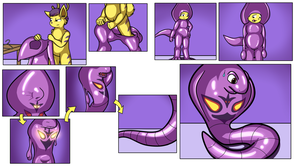 Commission - The Slither Suit (Arbok TF) by Ryusuta