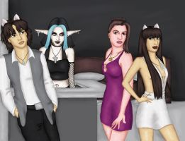 The Otherkind 4 Cover by comicalclare