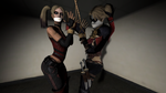 Harley Double Tied by BlakKnight08