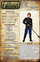 Aime's Fallout Character Sheet by FlyingPhoenixFire