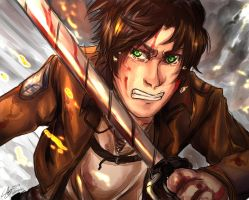 Eren by Dollmaster92
