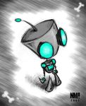 Fanart- The Gir Stands Alone by spookydoom