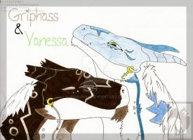 Griphass and Vanessa by fordonia