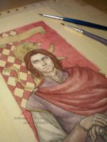 Gryffindor Bookmark Sneak Peek by Achen089
