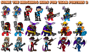 Sonic the Hedgehog huds for TF2 by ErichGrooms3