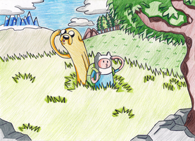 Adventure Time - Exploring Ooo by maryanaluzardo