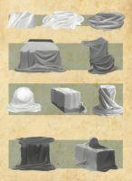 More drapery studies 1 by Haute-claire