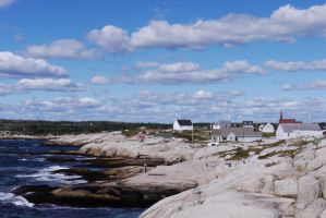 Peggy's Cove by 07oogenesis