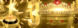 DaniMonster Awards 2014 by DaniMonsterEditions