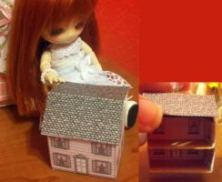 11cm doll sized doll house by Donttouchmykitty