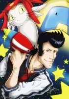 Space Dandy! by PhaseChan
