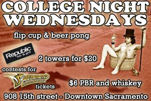 College Night Wednesdays @ Republic by therealtommyg