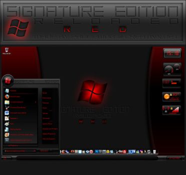 Signature Edition Reloaded Red by pauliewog260