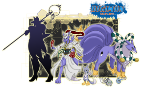 Digimon Origins_Vulpemon by EmeraldSora
