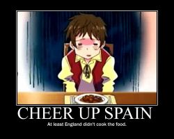 Cheer up Spain by EmoChild67