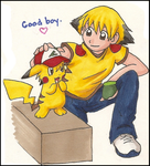 Good Boy, Ashchu by kolidescope