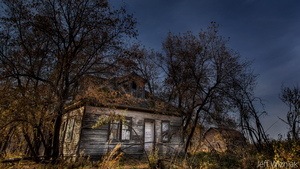 The Haunted House and Barn by Gemini8026