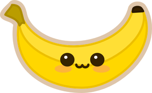 bananabluff's Kawaii Banana by amis0129