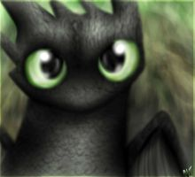 Toothless by Honeysucle10
