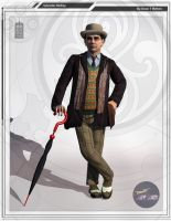 7th Doctor Sylvester McCoy by DarkAngelDTB