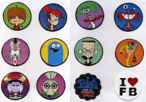 Embroidered Foster's Badges by NeitherSparky