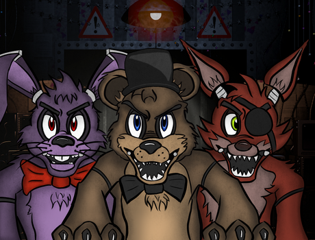 FNAF (In The Dark) by DigiLap