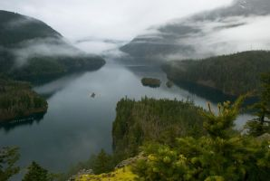 Diablo Lake by SenseiSage
