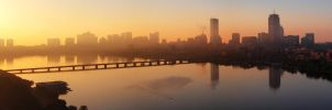 Bostonian Sunrise by geolio