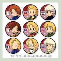 APH Buttons by Popo-Licious