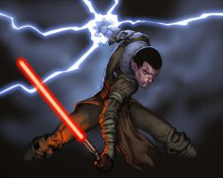 starkiller comish by redeve