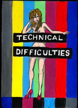 Technical Difficulties by orchideye