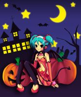 Trick or Treat -Hatsune Miku- by Kitsune-Petit