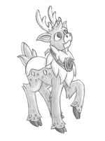 Concept Sketch - Melton (Kes Redesign) by GeminiShadows
