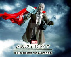 Marvel's Aunt May. She is Worthy by stick-man-11