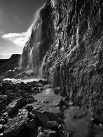 Long Exposure Black And White by sandor99