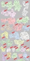 Fakemon Selling - Check it out by Cid-Fox